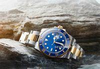 40mm Mariner 시계 판매 남성 캐주얼 116610 스테인레스 스틸 스위스 2813 자동 운동 316L 원래 상자 망 시계 Orologio 디 기계 디자이너