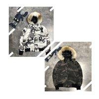 캐나다 다운 자켓 코트 거위 고품질 검은 흰색 위장 파카 겨울 남성 여성 복어 여자 # 1234