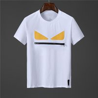 Мужская короткая рукава высокого качества R Улица хип-хоп футболки Tops Avant Garde Skulls Повседневная Trend T-рубашки