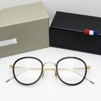 Acétate de haute qualité en forme de tob905 lunettes de lunettes hommes rétro lunettes femmes myopie lecture lunettes oculos de grau 210323