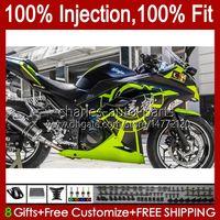Обсуждение впрыска для Kawasaki EX300 ZX3R ZX 300R ZX 3R 13 14 15 16 17 17 27HC.112 Lihgt Green EX300R EX-300 ZX-3R ZX300R ZX-300R 2013 2014 2015 2015 2017 OEM Bodys Kit