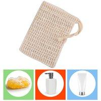 Double Seifenschaummaschentasche Weiche und komfortable Seifenbeutel Pull Seil Home Badbedarf Bequem und praktisch