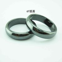 Fashion and Popular Trinkets Magnetic Hematite Magnetite Ring Jewelry Exhibition Sales Gifts