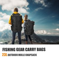 Fishing Accessories Portable Tackle Backpack Gear Storage Carry Bags Large Capacity For Outdoor