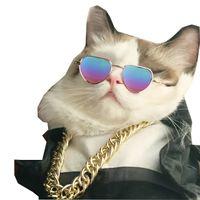Pet Love Heart Sunglasses Goggles Party Style Cat Glasses Dog Apparel Bulldog Teddy Corgi Puppy Supplies