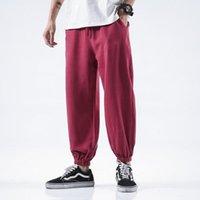 Calças de yoga mens algodão linho harem largo perna verão calça ocasional para homem plus size preto estilo japonês calças homens vestuário homens homens
