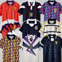 1978 1986 1986 1982 World Cup Final Scotland Retro Soccer Jersey McCoist Gallacher Lambert Classic Vintage Camicia da calcio per il tempo libero 1988 89 90 91 92 93 94 95 96 97 93 94 95 96 97 93