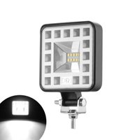 Lampada da lavoro LED Bar 57W 16 BARRA Auto per Spotlight quadrato OFF Strada Lampade da strada SUV ATV Lampade all'ingrosso