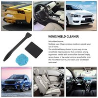 Useful Microfiber Auto Window Car Cleaning Long Handle Wash Brush Dust Care Windshield Towel Handy Washable Cleaner Sponge