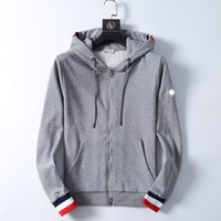 Designer Monclair Mens Hoodies França Moda Marca Homens Mulheres Mulheres Luxury Armband Sweatshirt Casual Street Hoodie