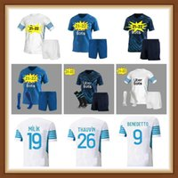 10 Payet Soccer Jersey Camisas de futebol 2021 2022 Pé Thauvin Benedetto Polo Jerseys 20 21 Camisa Marselha