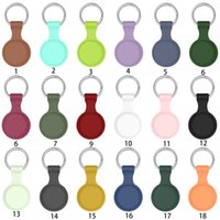 Silicone Cases For Airtag Pet Dog Collar,Keychain Protective Cover Compatible with Apple AirTags