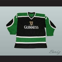Guinness March Irish Stout Beer St Patricks Jersey Jersey Jersey Broderie cousu Personnalisez n'importe quel nombre et nom Jerseys