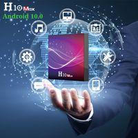 H10 Max Android 10.0 TV BOX Allwinner H616 Quad-Core 4GB 32GB 4GB 64GB Built-in 2.4GWIFI 6K Smart Set-Top-Box