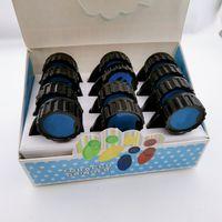 Smoking Accessories Cookies Grinders 40mm With Funnel 2 in 1 Leaf Shape Plastic Vape Cigarette 2in1 Tobacco Herb Grinder Plate