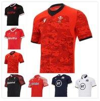 2021 웨일즈 스코틀랜드 럭비 유니폼 20 21 홈 멀리 웨일스 어 스코틀랜드 셔츠 Maillot Camiseta Maglia 사이즈 S-5XL