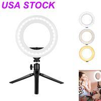 10Inch USA Stock Stock LED Ring Fülllicht wird von USB Hautpflege angetrieben