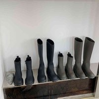 Boots Matte Gray Chunky Platform Motorcycle Long Knee Women Brand Design Round Toe Thigh Riding Shoes J0Z3