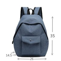 Backpack Dropship Style Vintage Canvas Women's Casual Outdoor Student School Bag Campus Computer