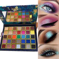 2021 Eyeshadow di alta qualità 35 colori Ombretto Ombretto Ombretto Earth Ladies Smoky Smoky Makeup Makeup Factory Vendite dirette
