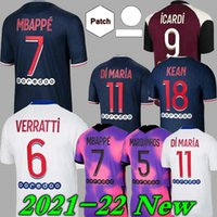 Mailleots de Football 20 21 كرة القدم جيرسي mbappe icardi قميص الرجال الاطفال مايلوت أزياء القدمين enfants kimpembe 4th gana kean marquinhos