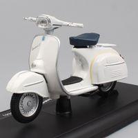 Childs Mini 118 Maßstab Maisto Piaggio Vespa 125 GT 1966 Roller Motorrad Diecast-Fahrzeuge Motorrad Spielzeugmodelle für Sammlerstücke
