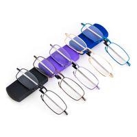 Gootrades Mini design Lecture pliante pour hommes Femmes Black Telescopic jambes Rotation Presbyopia lunettes lunettes lunettes