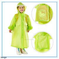 5 Fashion Kids ImpermeCoats Poncho Childrenwear Colorswear Colors Colors School School Bag Viajes Impermeable Impermeable Rainw XHP54 FFSZFFSZFFSZ
