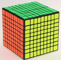 Original Shengshou 9x9x9 Speed Cube quebra-cabeça Semibright ZBright Alto Brilhante Brilhante Brinquedos Cubo Mago