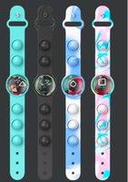 New squid game toy bracelet press decompression music table plastic fingertip sensory Bubble finger Squeeze