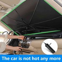 Car Sun Shade Parasol Auto Front Window Sunshade Covers Umbrella Protector Interior Windshield Protection Accessories