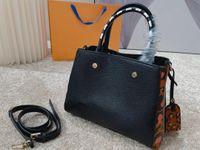 Dana kabartma montaigne leopar omuz crossbody çanta kılıf çanta tasarımcı çanta kadın haberci alışveriş çantası