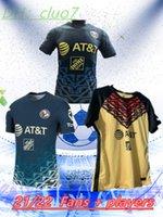 Fans + Joueurs 2021 2022 Club America Soccer Jerseys F. Viñas Henry G. Ochoa Liga MX Jersey Rodriguez Giovani 2122 Shirt de football América
