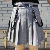 Girl Jk Skirt Accessories Heart Waist Chain Hiphop Chain Belt Women Sweet Adjustable Disco Dancing Belt Punk Style