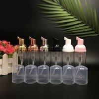 Kunststoff schäumende Flaschen Schaumpumpenflasche 60 ml Schaumspender Leerer Nachfüllbare Reiseflaschen Für Hand Shampoo Reinigung Flughafen Reise Suppories (Gold)