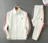 21SS Mens Designer Tracksuit Man Jacket Giacca con cappuccio Casa con cappuccio o pantaloni Abbigliamento Abbigliamento Abbigliamento Sportswear Felpe con cappuccio Tute EUR Taglia S-XL