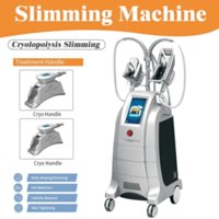 2021 New Arrival 4 Handles Cryolipolysis Body Slimming Weight Fat Crylipolysis Body Belly Fat Cell Loss Instrument Beauty Equipment
