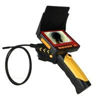 Impermeable 4,3 pulgadas AV Endoscopio Boroscopio Seguridad CCTV Inspección Tubo Snake Tube Micro Mini Cámaras IP