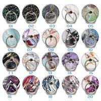 Marble Bling Finger Ring Holder 360 degree Cell phone rings Stand Bracket for iphone13 samsung