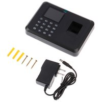 Fingerprint Access Control Attendance Machine LCD Display USB System Time Clock Employee Checking-in Recorder