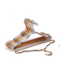 1.2cm Cabides de roupa não deslizante seco e molhado Rack de alumínio Liga de alumínio Suporte Não desbotação Multi Cor Opções Hwe6399