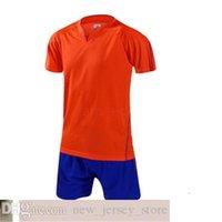 Top Futebol Futebol Jerseys Fast Transporte Barato Atacado Desconto Qualquer Nome Personalizar Camisa de Futebol Tamanho S-XXL 66