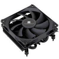 Fanlar Soğutma Termal Yükleyici AXP90-X36 Siyah AGHP Isı Borusu Tam Reflow İşlemi Çift Platform