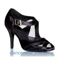 Sandals Ladies High Quality Ballroom Latin Dance Shoes For Women Professional Tango Modern Heels Salsa Dancing Heeled