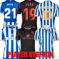 Gerçek Sociedad 2021 Futbol Forması Copa del Rey Üçüncü Oyarzabal X Prieto Portu 3rd David Silva Odegaard Juanmi 20 21 Camiseta de Futbol Futbol Gömlek