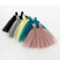 Ärmellose Kinderkleidung, Mädchen, Prinzessinkleider, Mädchen erste Geburtstags-Partykleider, hübsche kleine Jungs, Kleider