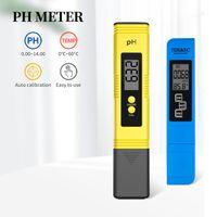 디지털 미터 EC TDS 테스터 PH 수질 모니터 테스트 펜 자동 교정 포켓 테스터 풀 30 % OFF