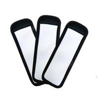 Ice Cream Tools Sublimation Blank Reusable Neoprene Popsicle Holder Insulator Sleeves Freezer Holders Antifreezing Sleeve Bags DAR371