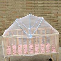 아기 침대 침대 그물 커튼 돔 소품 모기 범퍼 그물 장식 장식 화이트