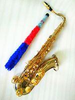 Yanagisawa WO37 Tenor Saksafon BB Tune Müzik Aletleri Gümüş Kaplama Vücut Altın Lake Anahtar Sax Kılıfı Ağızlık